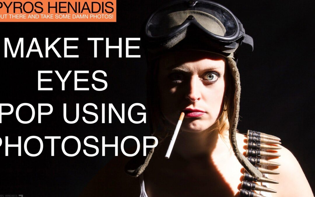 How to Make Eyes Pop Using Photoshop
