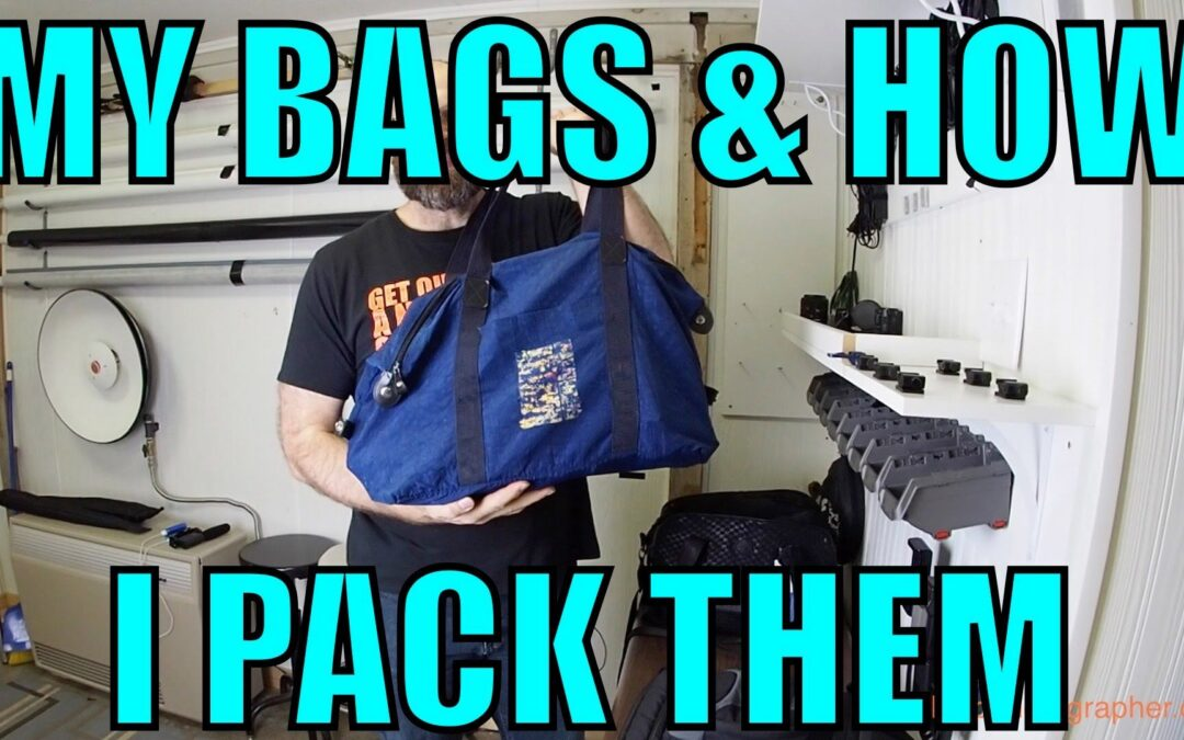 My Camera Bags and How I Pack Them