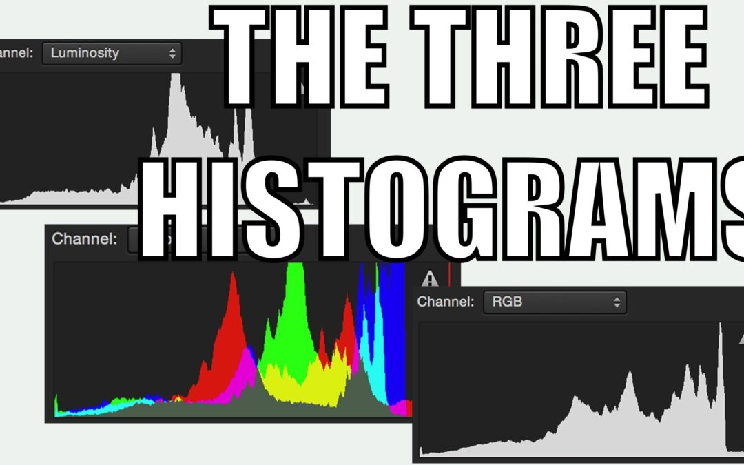 The Three Different Image Histograms