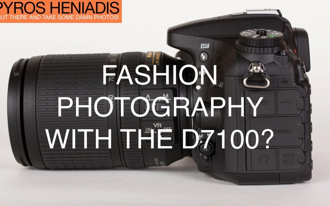 D7100 for Fashion Photography & 70D RAW Files in Photoshop | Q&A Ep.16