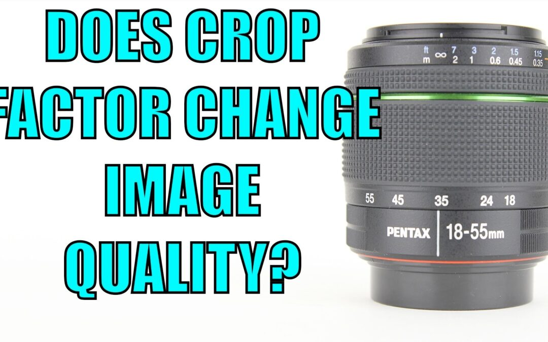 Does Crop Factor Give You Better Image Quality? | Q&A Ep.49