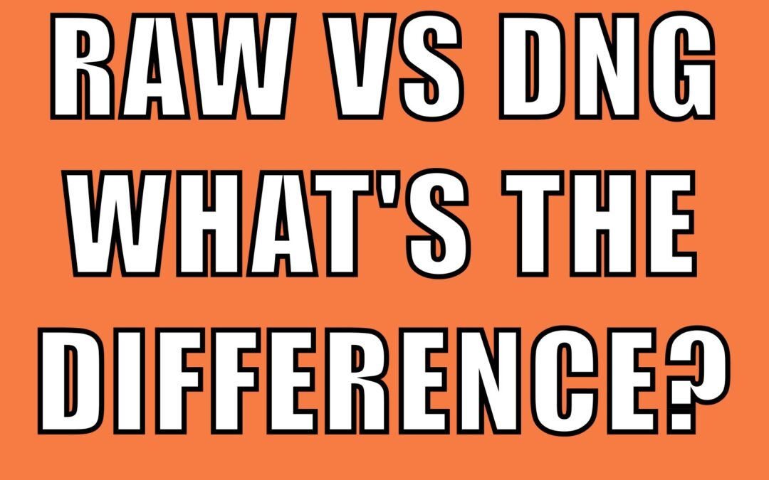 RAW VS DNG. What's The Difference? | Q&A Ep. 56
