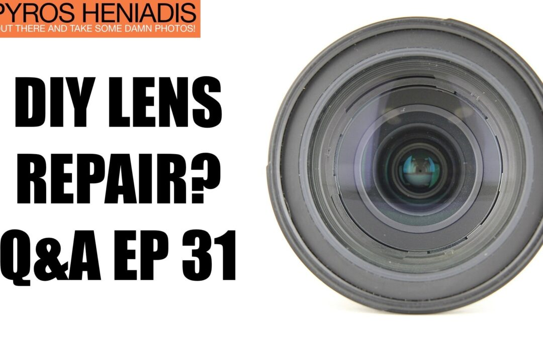 Should You Try To Fix Your Broken Lens Yourself? | Q&A Ep.31