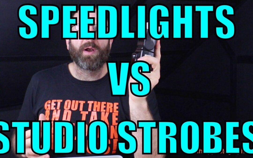 Speedlights VS Studio Strobes | Q&A Ep.62