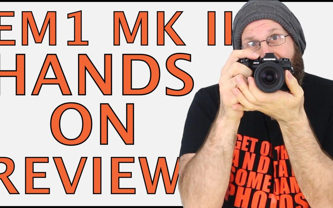The Micro 4/3 MONSTER! | Olympus OM-D EM-1 Hands On Review
