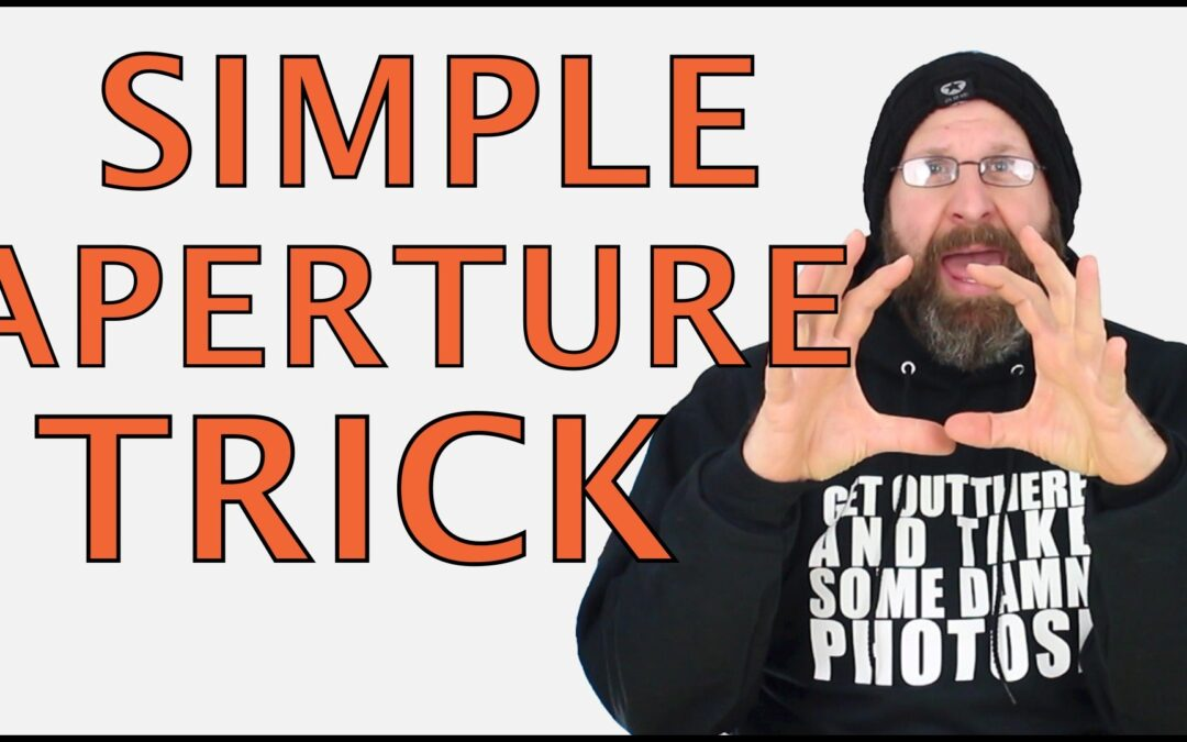 Super Simple Aperture & Depth Of Field Trick