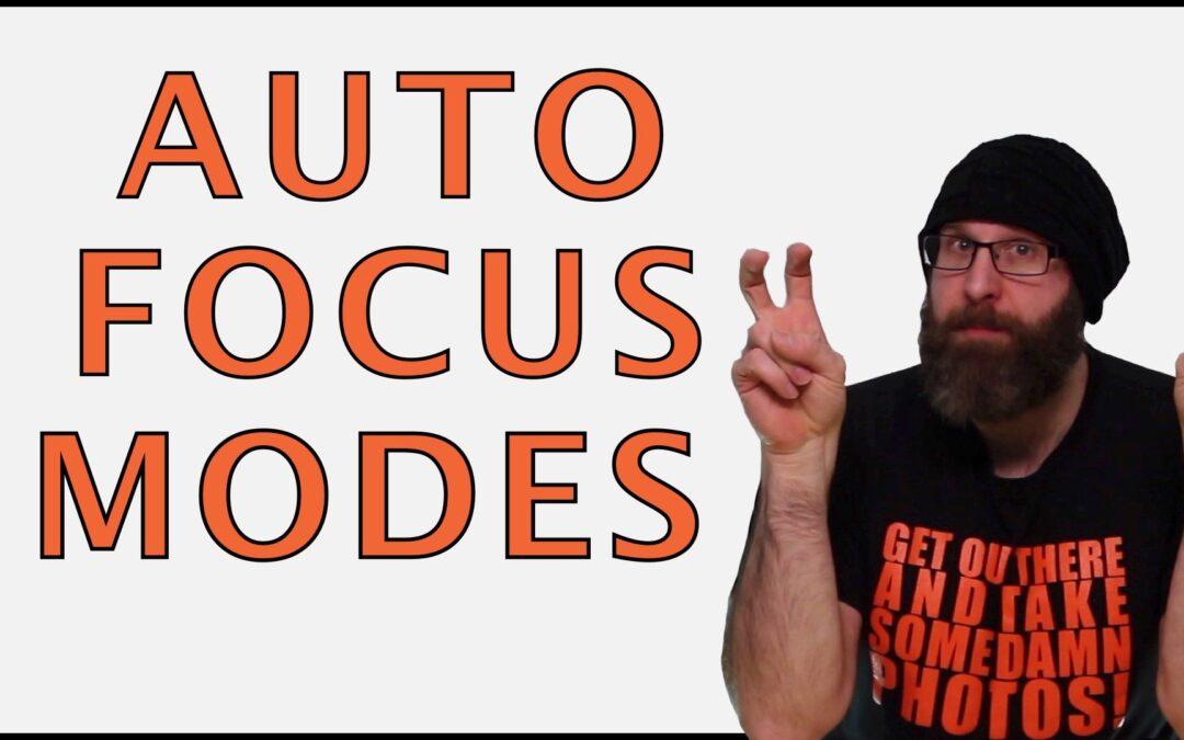 Understanding and Choosing The Best Focus Mode for Sharp Autofocus