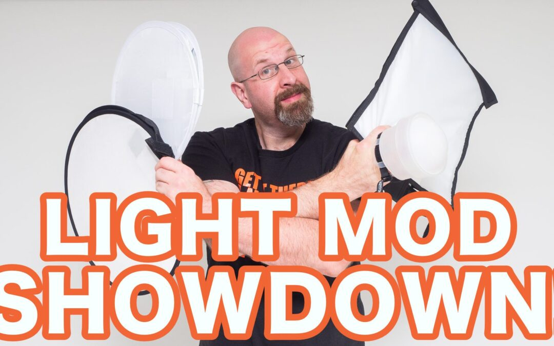 On Camera Flash Light Modifier Showdown!