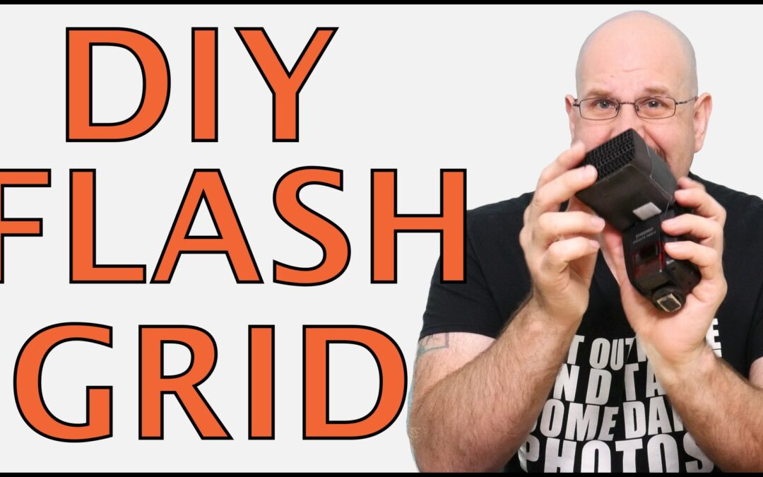 DIY Speedlight Grid Under $1 (NOT STRAWS, WAY BETTER!)