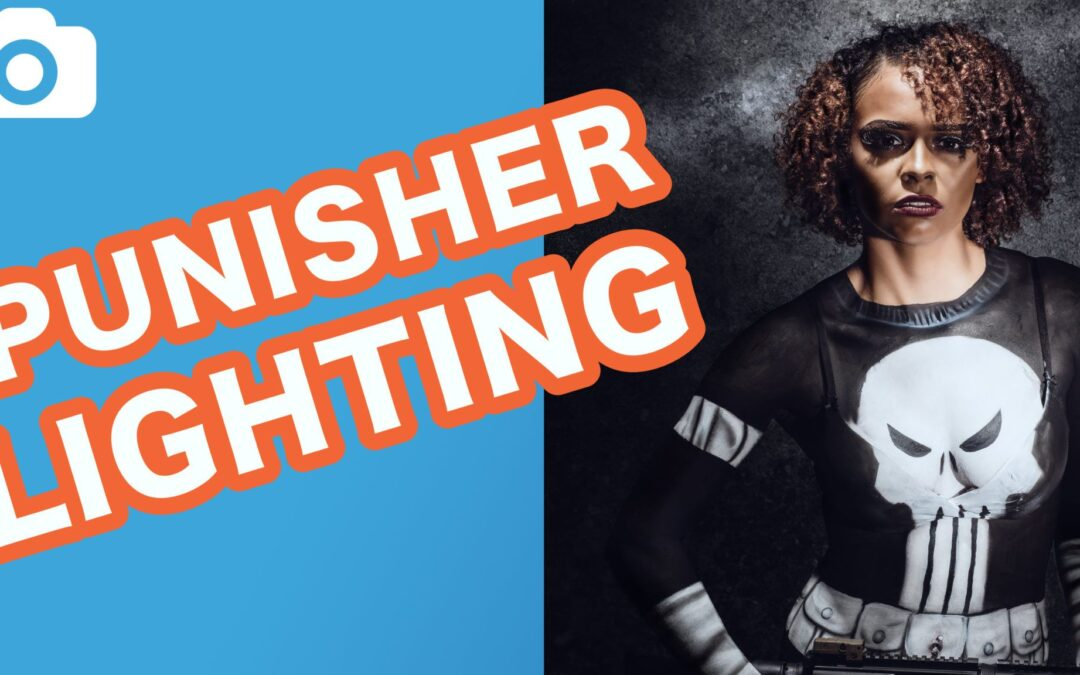 Photography Lighting Tutorial – Badass Punisher Bodypaint