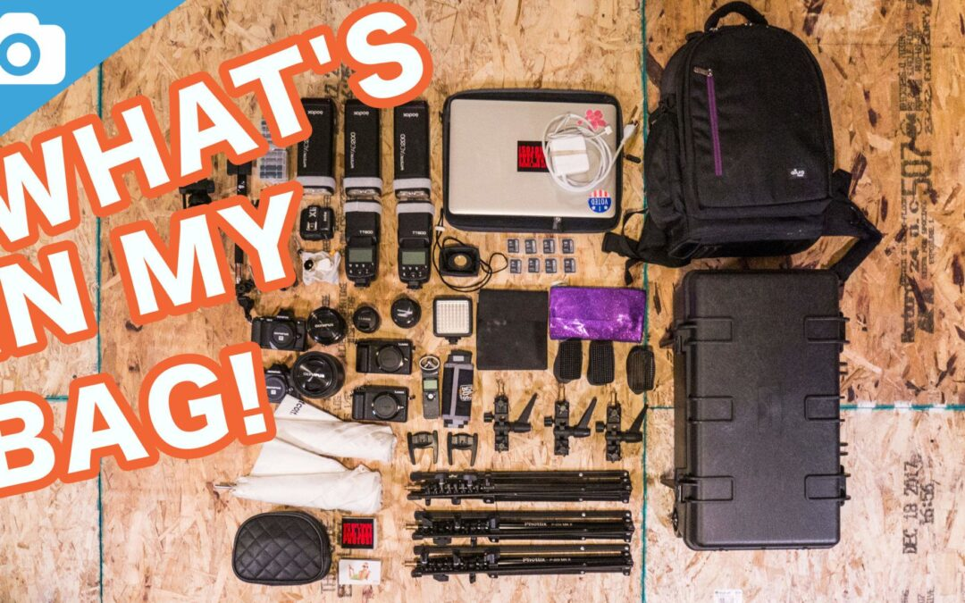 What's in my camera bag 2018 (Packing for WPPI in Las Vegas!)