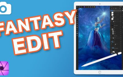 Affinity Photo iPad Portrait Fantasy Edit Breakdown
