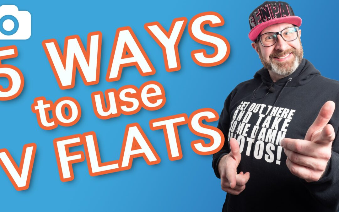 5 Ways To Use V Flats (Photography Lighting)