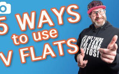 5 Ways To Use V Flats (Photography Lighting)