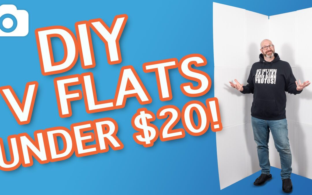 Diy V Flats for Photography Under $20! (NOT Foam Insulation Panels!)