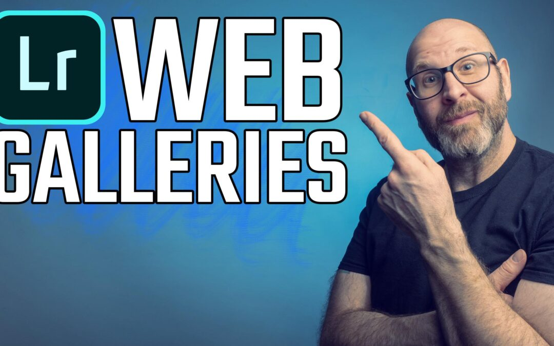 How To Create A Web Gallery In Lightroom CC 2019