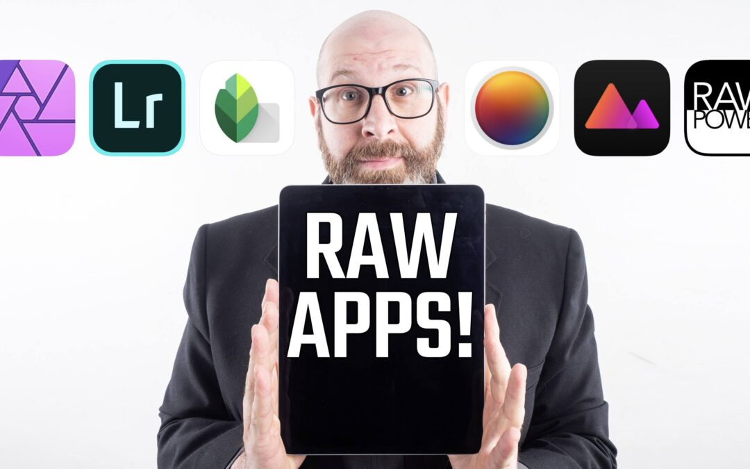 iPad Pro Raw Photo Editing Showdown! 6 RAW Photo Editing Apps Compared!