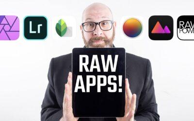 iPad Pro Raw Photo Editing Showdown! 6 RAW Photo Editing Apps Compared!