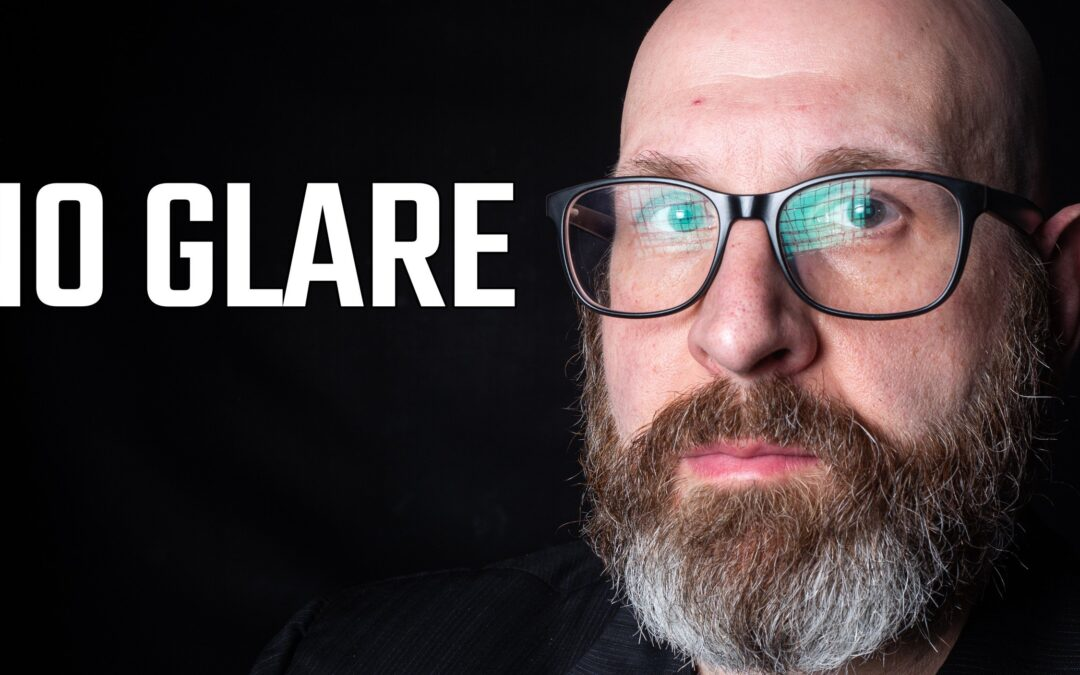 How To Avoid Glare On Glasses In Photos