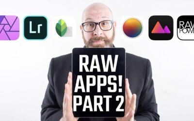 iPad Pro Raw Photo Editing Showdown! Lightroom vs Affinity Photo vs Pixelmator Photos and More